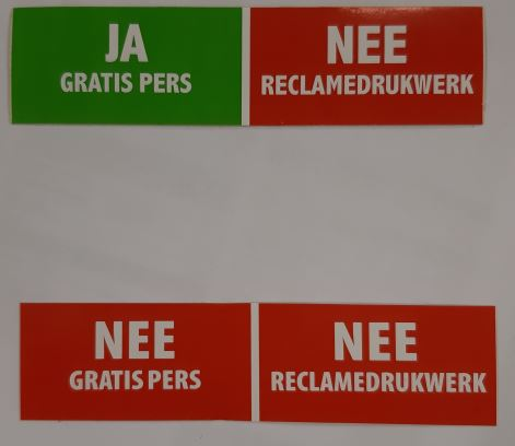 stickers reclame
